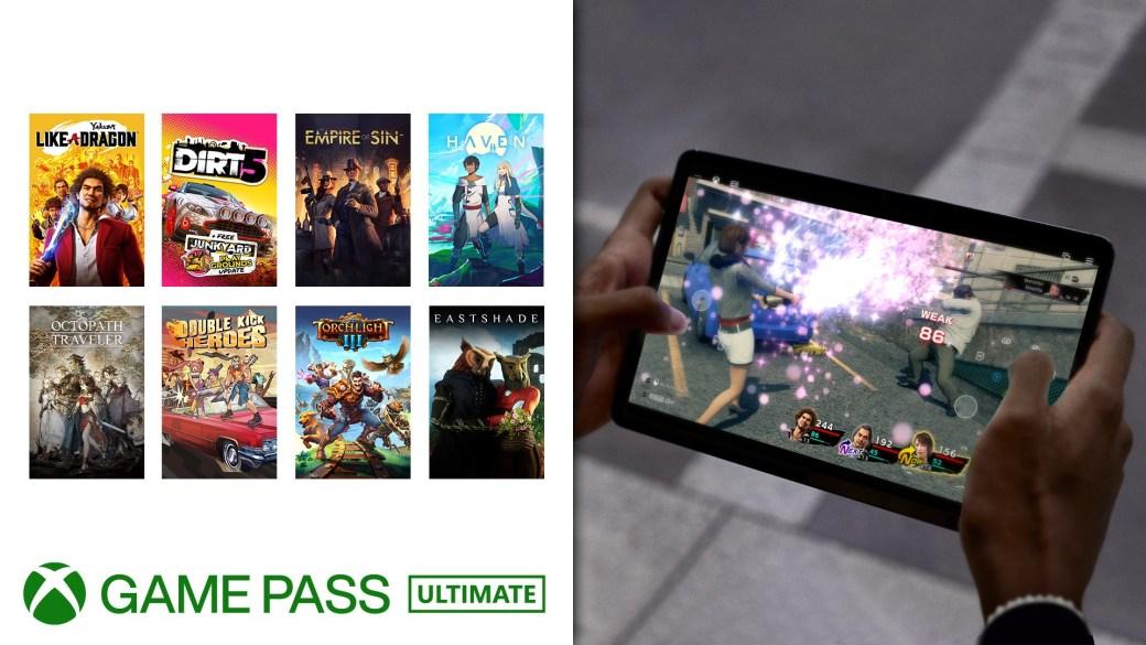 Altri giochi abilitati al cloud con i controlli touch di Xbox