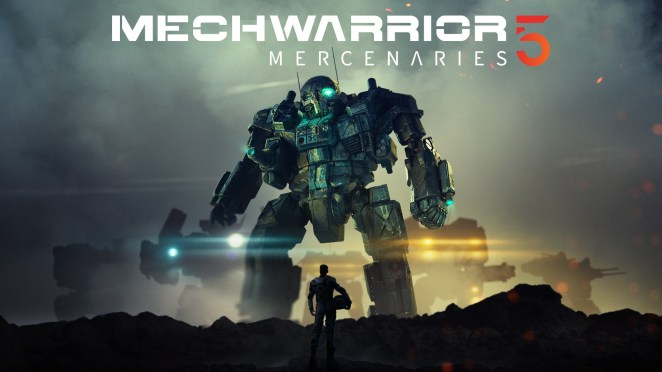 MechWarrior 5 Mercenaries - Hero Image