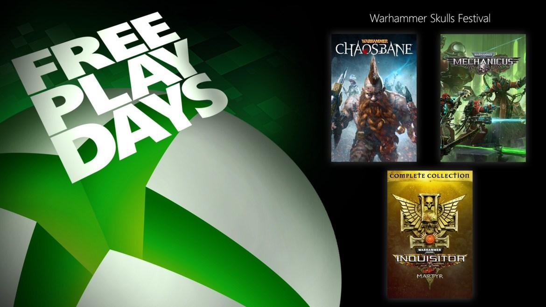 Free Play Days - Warhammer