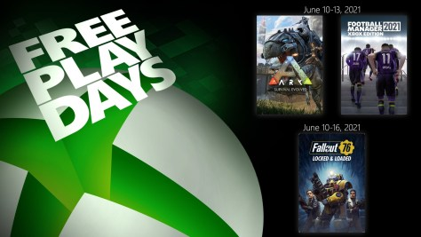 Free Play Days - June 10