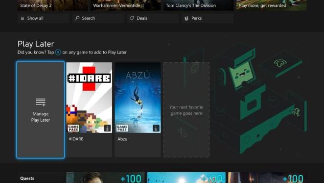 September Xbox Update