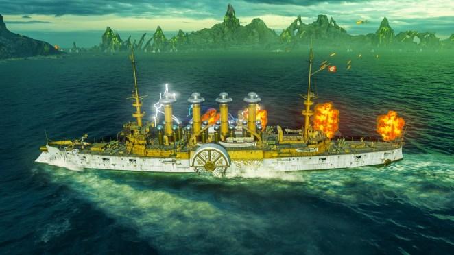 World of Warships: Legends - Halloween Event
