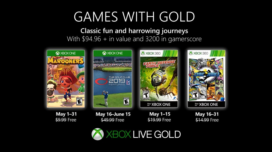 New Games With Gold For May 2019 Xbox Wire