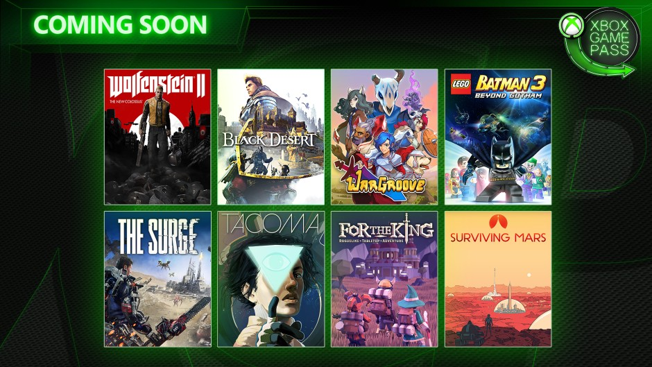 Coming Soon To Xbox Game Pass Wolfenstein Ii The New