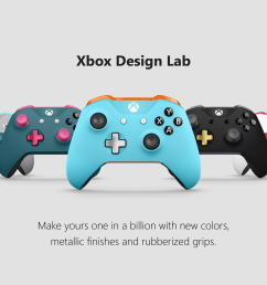 xbox design lab variety controllers  [ 3840 x 2160 Pixel ]