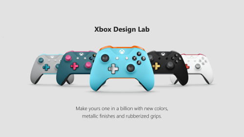 small resolution of  xbox design lab variety controllers