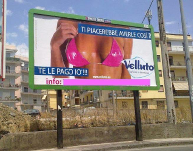 Risultati immagini per immagini di cartelloni pubblicitari