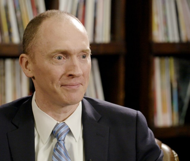 Carter Page Tells His Side Of The Story