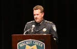 Walnut Creek News, Thomas Chaplin was sworn in as Walnut Creek's new Chief of Police.