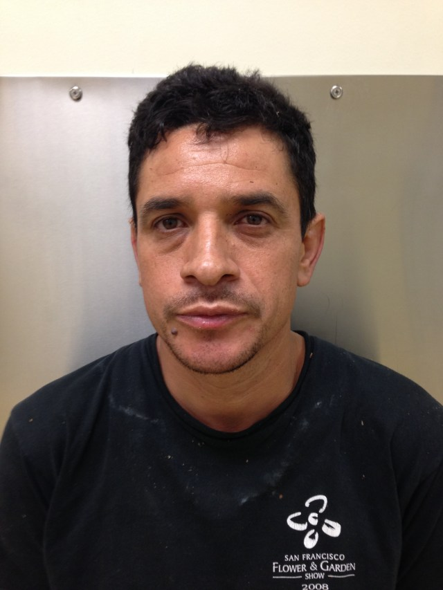 Suspected burglar bagged in Walnut Creek overnight.