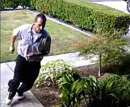Walnut Creek police alerted the public about a package thief.