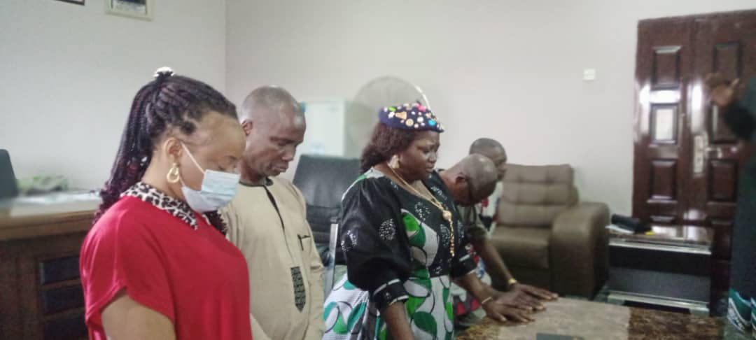 OBOT AKARA COUNCIL CHAIRMAN RECIEVES CONFERENCE OF VILLAGE HEADS: …Sues for active involvement in the selection process of youth presidents-By Aniema Dan.