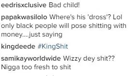 Wizkid in the toilet_comments