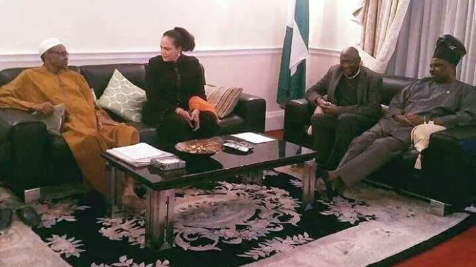 892a9b7b3565 EXPOSED  Viral Photos Of Buhari s 10-Day Leave In London Was Taken ...