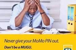 MTN Mobile Money Against Fraudsters