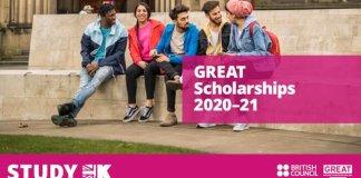 GREAT SCHOLARSHIP IN UK 2021 | 310 SCHOLARSHIPS