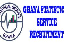 GSS POPULATION CENSUS (PHC) SHORTLISTED / SELECTED APPLICANTS (ENUMERATORS LIST), GHANA STATISTICAL SERVICE