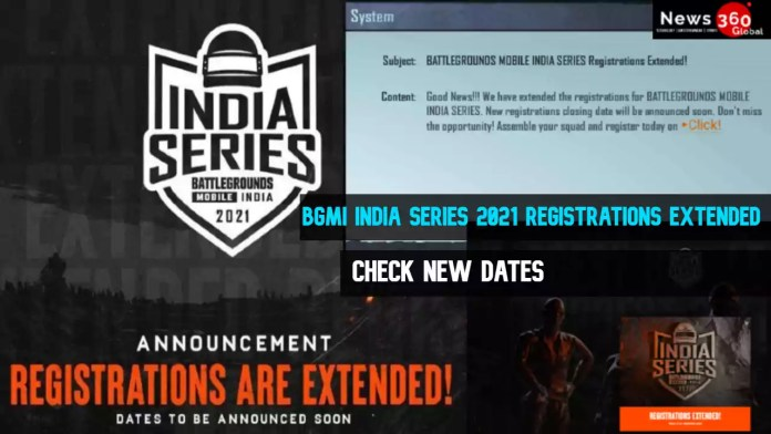 BGMI INDIA SERIES 2021 Registrations Extended, Check New Dates