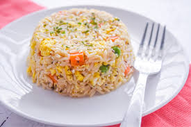 Microwave carrot and rice