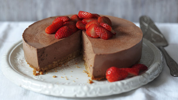 Low-fat cheesecake