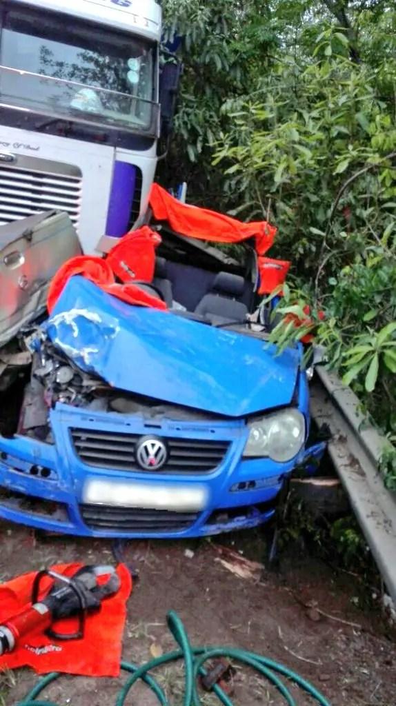 Accident on M7