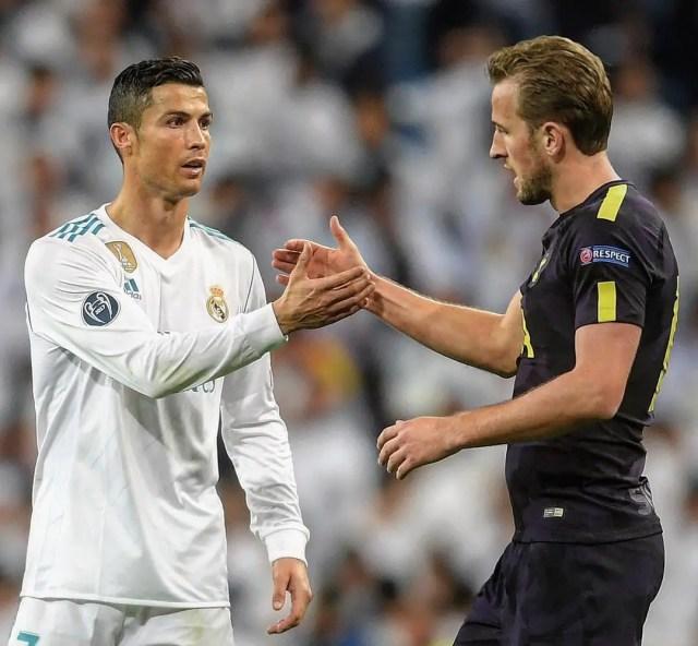 Kane and Ronaldo