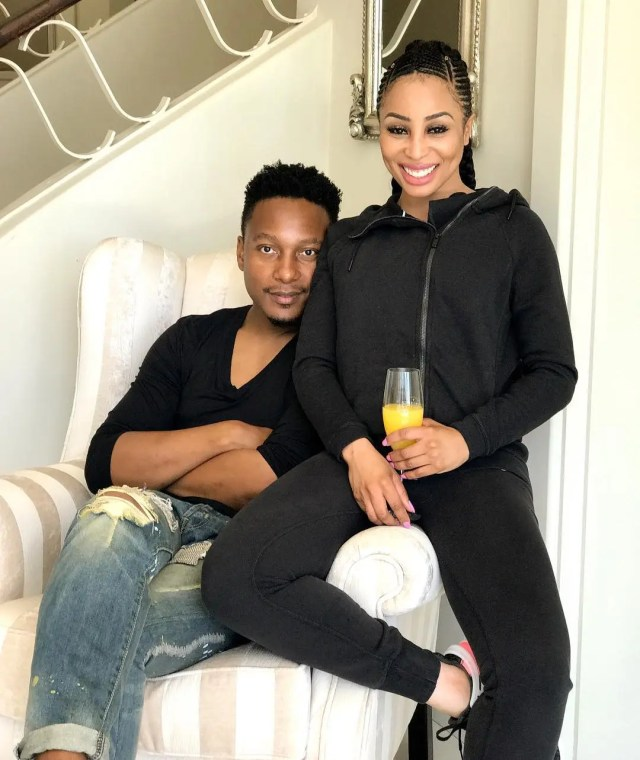 Tebogo and Khanyi Mbau