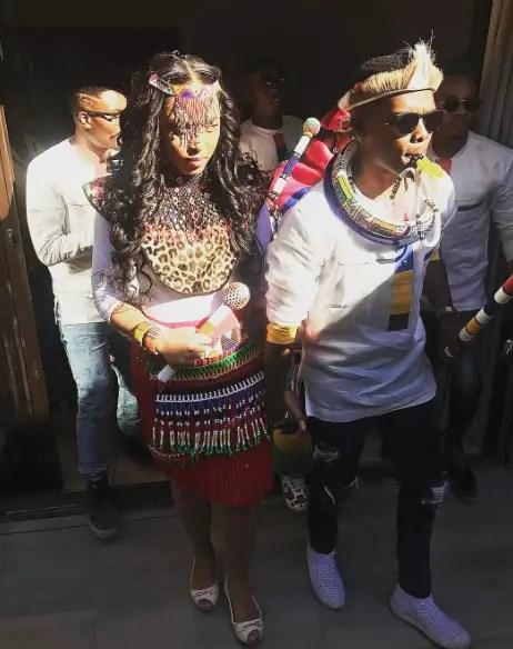 Simphiwe Ngema & Dumi Masilela