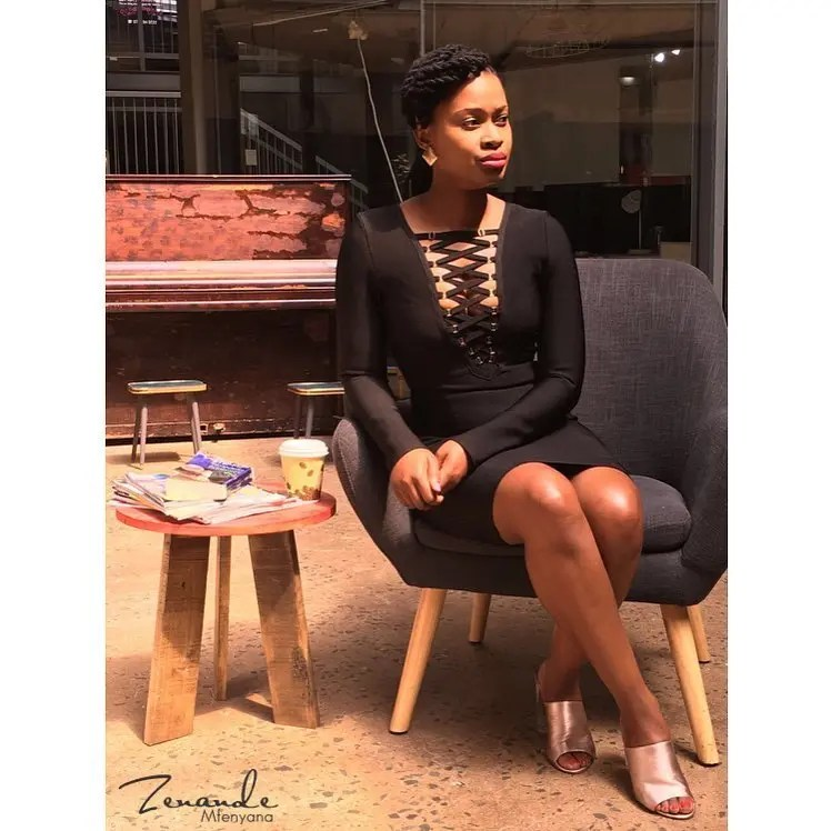 Who is zenande mfenyana dating nake