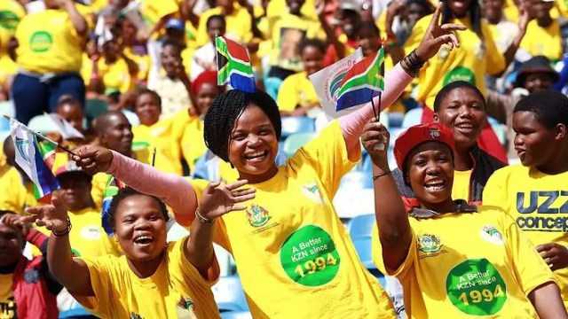 South Africans Freedom day