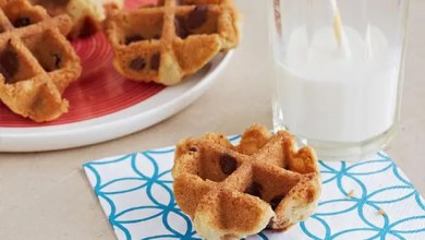 Photo of Waffled Chocolate Chip Cookies: RECIPE