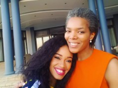 Dineo Moeketsi and Connie Ferguson