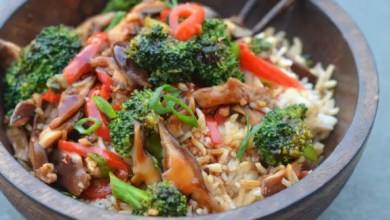 Photo of Sweet Ginger, Chilli Chicken and Asian Vegetable Stir-fry: RECIPE