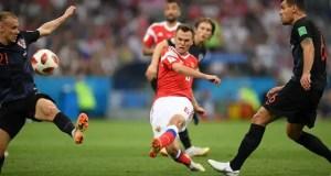 Croatia 1 - 1 Russia