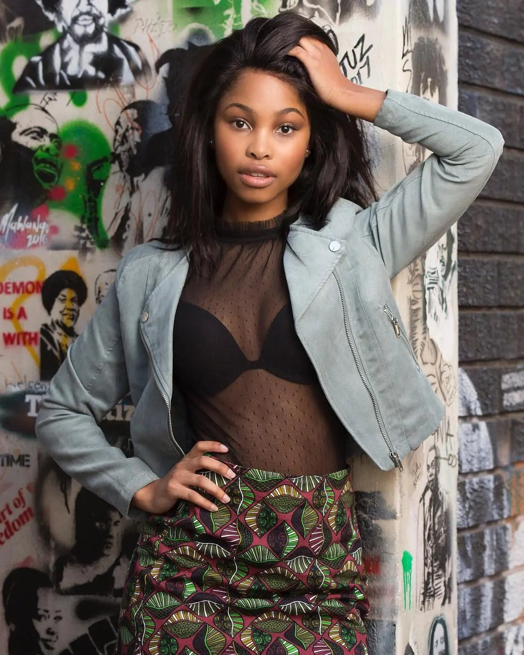 Latest Pictures Isithembiso's Nandi Mbatha Showing Off