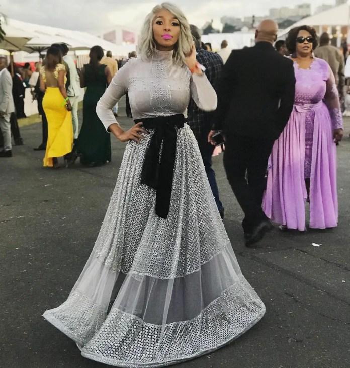 Nhlanhla Nciza Durban July 2018