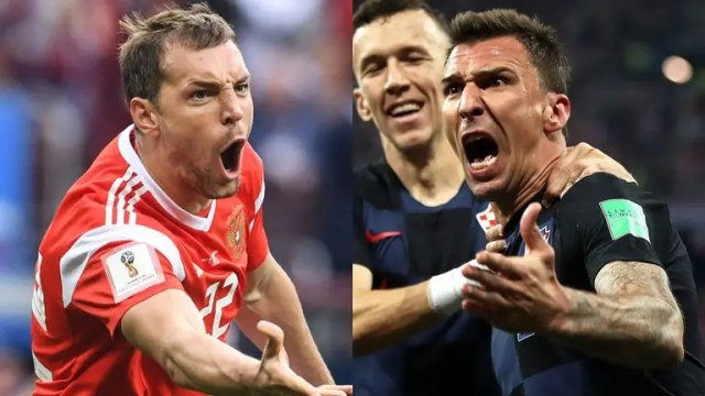 Russia Vs Croatia