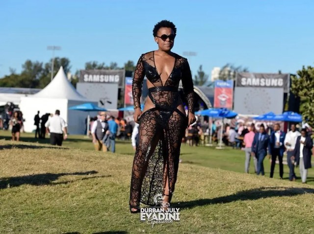 Zodwa Wabantu at Durban July 2018