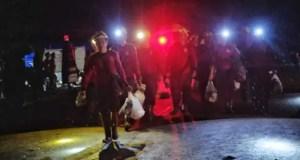 4 Thai boys rescued