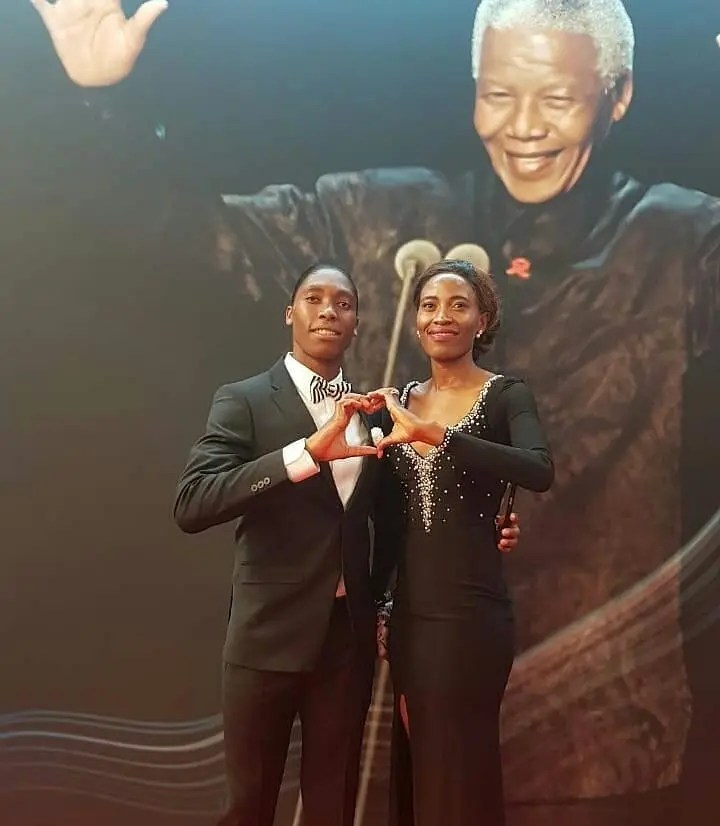 Image result for caster semenya and partner