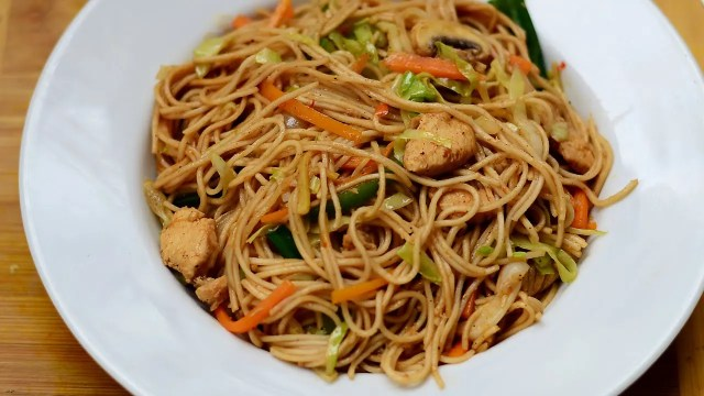 Chinese chicken noodle