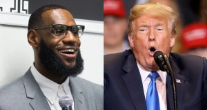 LeBron James and President Trump