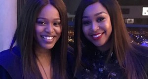 Natasha Thahane and Minnie Dlamini
