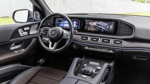 GLE SUV Interior