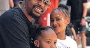 Kagiso Modupe and his babies