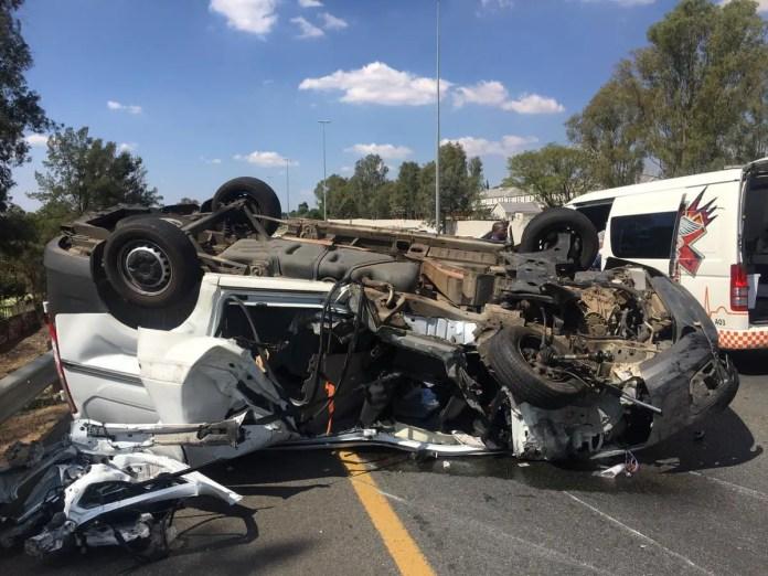 Lebogang Manyama Accident