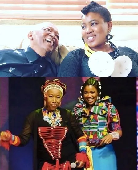Hugh and Busi wiith Thandie