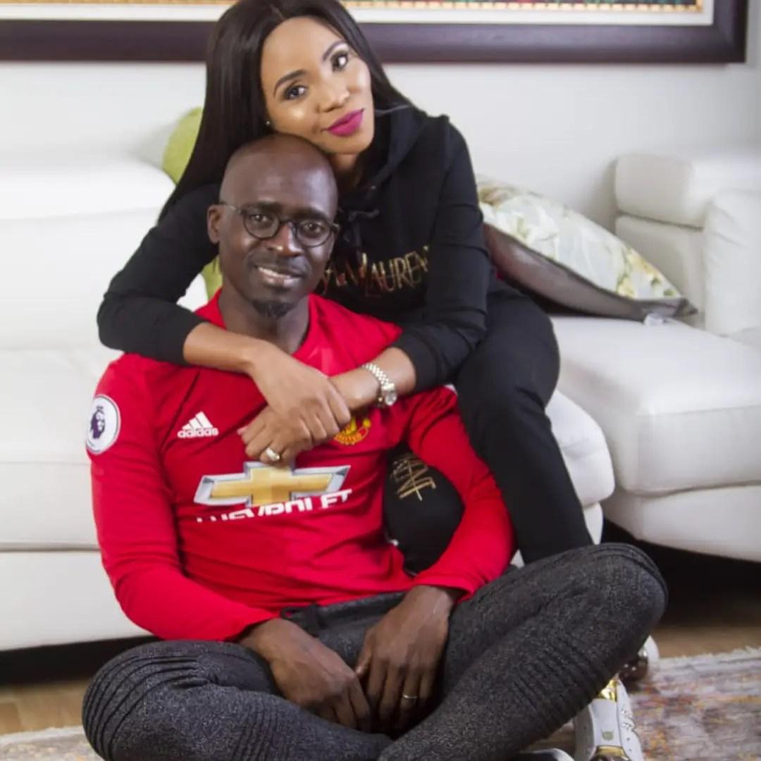 Gigaba and wife