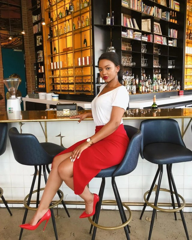 Image result for mihlali ndamase corporate wears