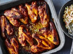 Texan chicken wings
